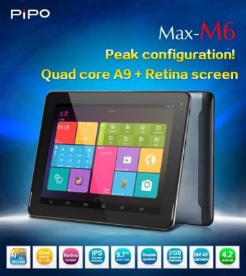 PiPO Max M6: nuovo tablet Android con Retina Display e prezzo di 268 dollari