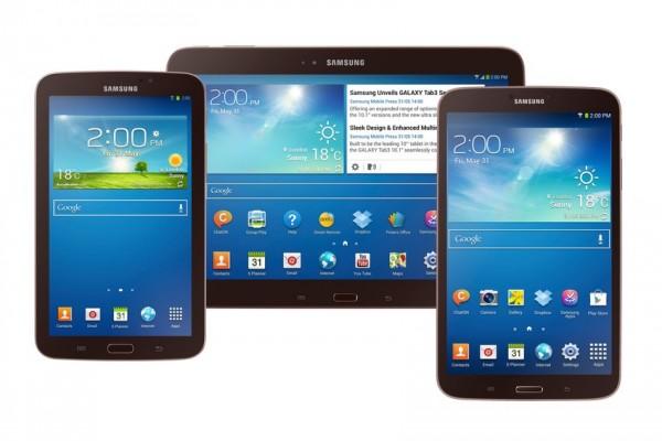 Samsung Galaxy Tab 3: i nuovi tablet arrivano negli USA, a partire da 199 dollari