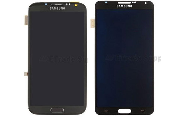 Samsung Galaxy Note 3: display a confronto con quello del Galaxy Note 2