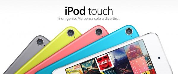 iPod Touch: arriva la colorazione inedita Space Grey di iPhone 5S