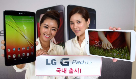 LG G Pad 8.3: video di unboxing, prezzo in Italia 359 euro