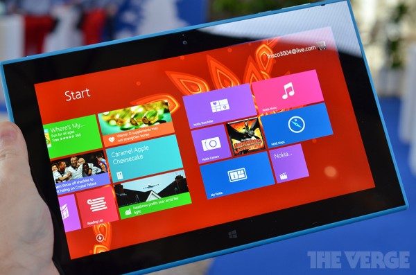 Lumia 2520 è il primo tablet Windows firmato Nokia