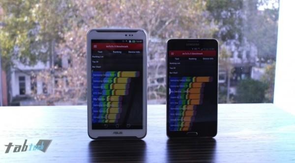 Asus FonePad Note FHD 6 a confronto con il Samsung Galaxy Note 3