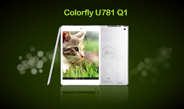 Colorfly U781 è il nuovo tablet Android che sfid l'iPad Mini