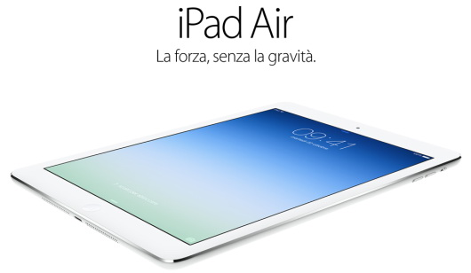 iPad Air: vendite record durante il weekend di lancio