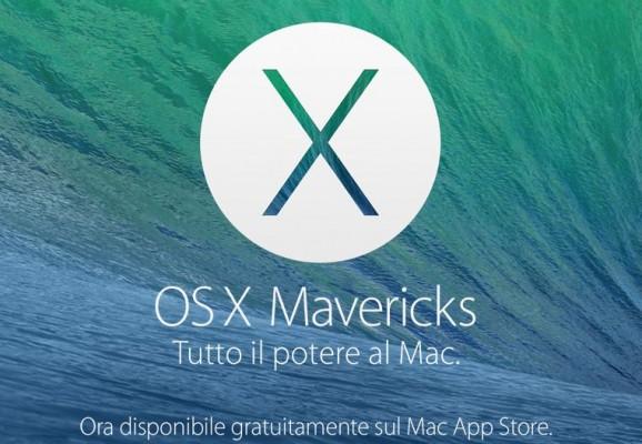 OS X 10.9.1 e OS X 10.9.2 Mavericks: in test le versioni Beta