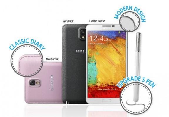 Samsung Galaxy Note 3 e Galaxy Gear: infografica spiega le novità