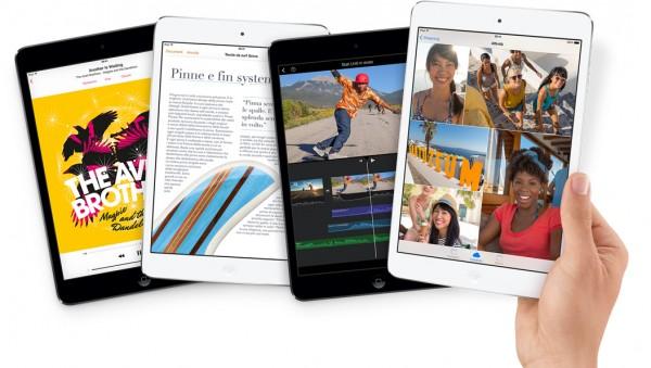 iPad Mini 2: la produzione mensile aumenta a 4 milioni di unità