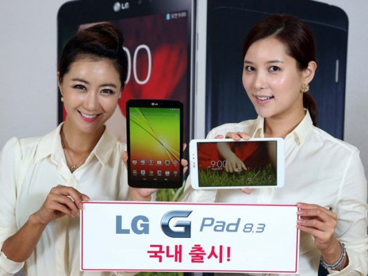 LG G Pad 8.3 disponibile per la vendita in Italia al prezzo di 299 euro