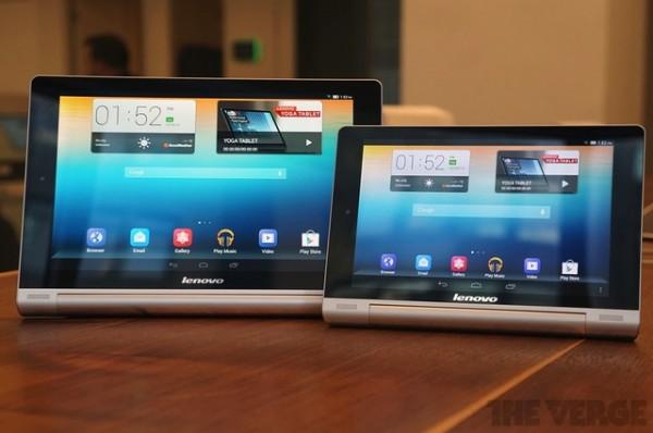 Lenovo Yoga Tablet da 8 e 10 pollici disponibili per la vendita in Italia