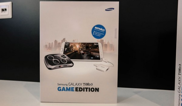 Samsung Galaxy Tab 3 8.0: svelato il bundle Game Edition