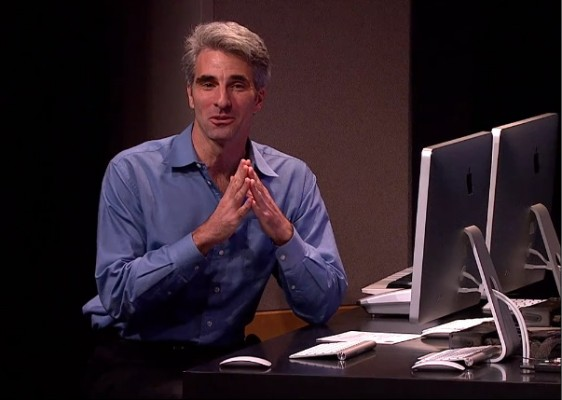 Craig Federighi: i sistemi iOS e OS X non saranno mai una cosa sola