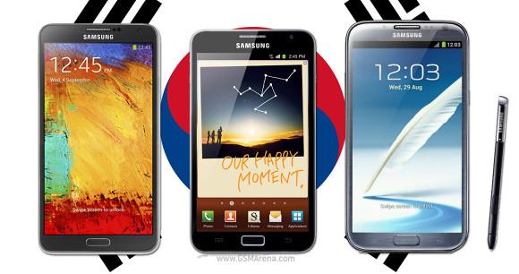 Samsung: venduti 10 milioni di Galaxy Note in Corea del Sud
