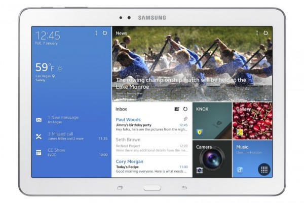 CES 2014: Samsung annuncia il Galaxy Note Pro 12.2 e i nuovi Galaxy Tab Pro