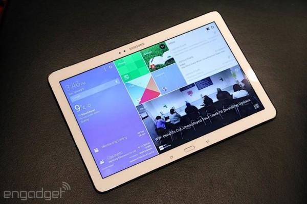 Samsung Galaxy Note Pro 12.2: immagini e video anteprima dal CES 2014