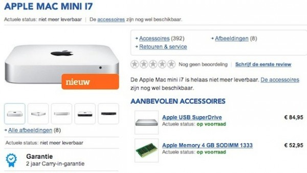Mac Mini Early 2014: in uscita a febbraio il nuovo modello