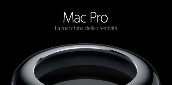 Mac Pro 2013: ritardo in Italia, uscita tra qualche settimana