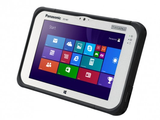 Panasonic Toughpad FZ-M1: tablet Windows 8.1 resistente a tutto