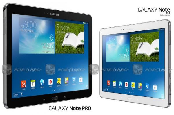 Samsung Galaxy Note Pro 12.2: primi benchmark e conferme sulle caratteristiche