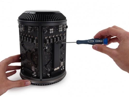 Mac Pro 2013: facile da smontare e riparare, secondo iFixit
