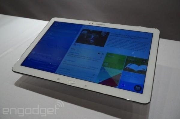 CES 2014: immagini dal vivo dei nuovi tablet Samsung Galaxy Tab Pro