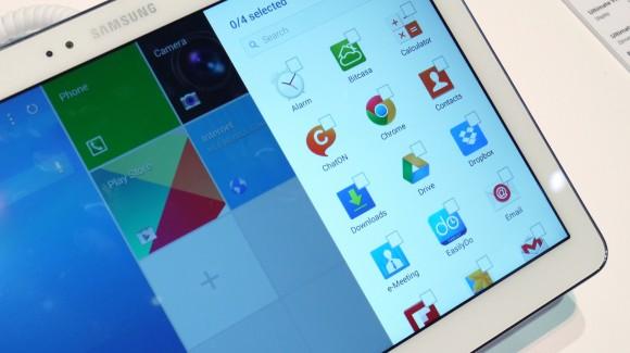 Samsung Galaxy Tab Pro 12.2: promossa la nuova interfaccia Magazine UX