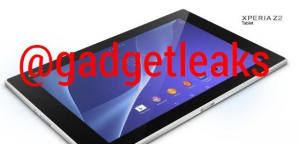 Sony Xperia Tablet Z2: prime immagini e dettagli sulle caratteristiche