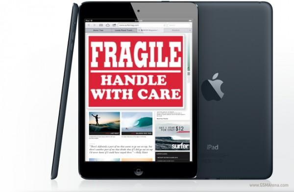iPad Mini è il tablet più fragile, secondo una ricerca di SquareTrade Europe