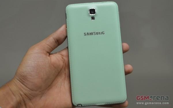 Samsung Galaxy Note 3 Neo: foto dal vivo della versione Mint Green