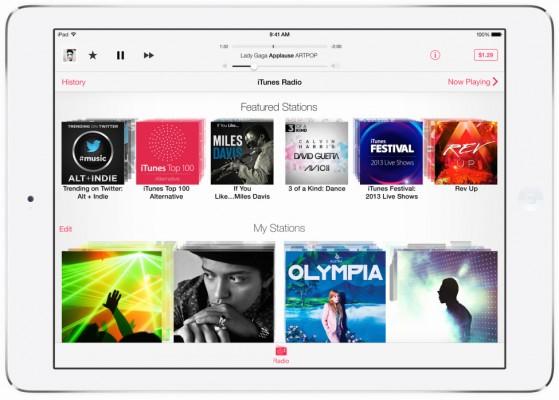 Apple iOS 8 avrà l'app iTunes Radio separata da Musica