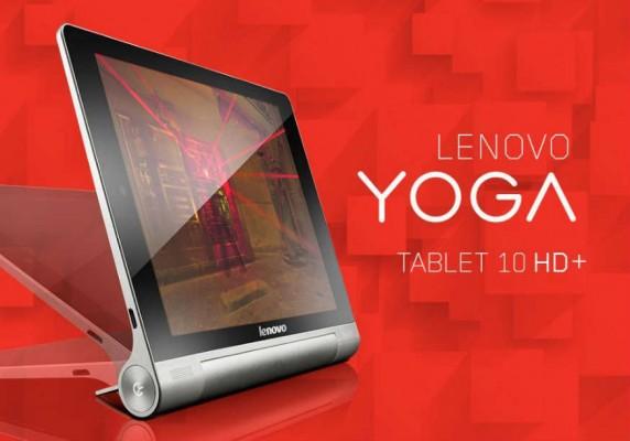 Lenovo Yoga Tablet 10 HD+: novità hardware per il tablet da 10 pollici