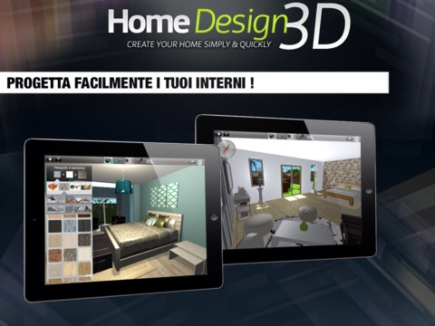 home design 3d gold per ipad l app per disegnare la nostra casa - Home Design 3d Gold