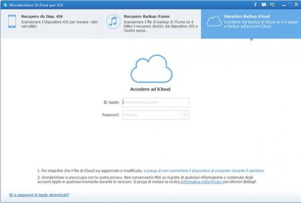 Wondershare Dr.Fone: come recuperare i dati dell'iPad e iPhone