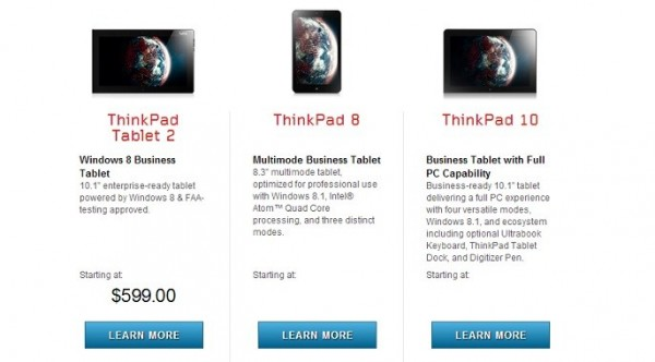 Lenovo Thinkpad 10: caratteristiche ufficiali, prezzo e uscita in Italia