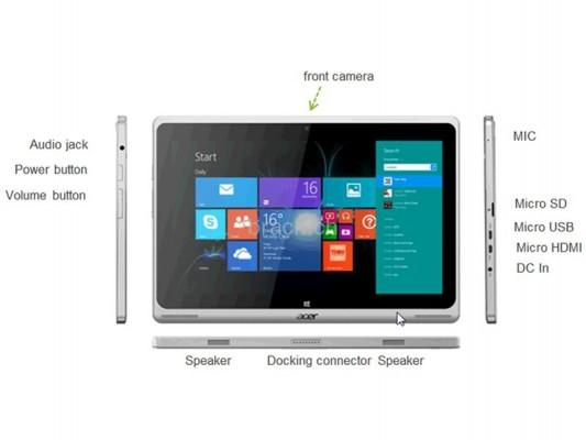 ACER Aspire Switch SW5: caratteristiche e prezzo del tablet convertibile