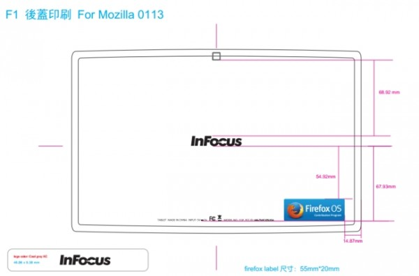 InFocus New Tab F1: primo tablet con sistema Firefox OS