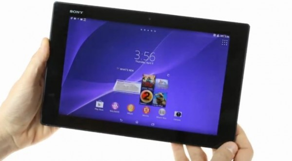 Sony Xperia Tablet Z2: video recensione e immagini dal vivo