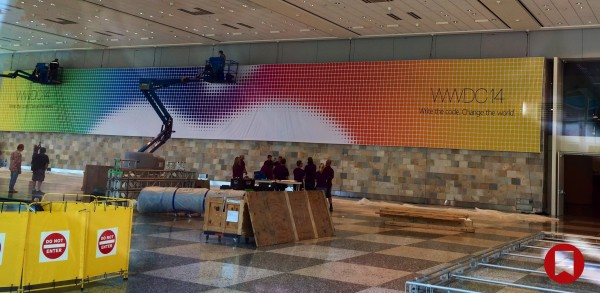 Apple WWDC 2014: ecco i banner dell'evento a San Francisco