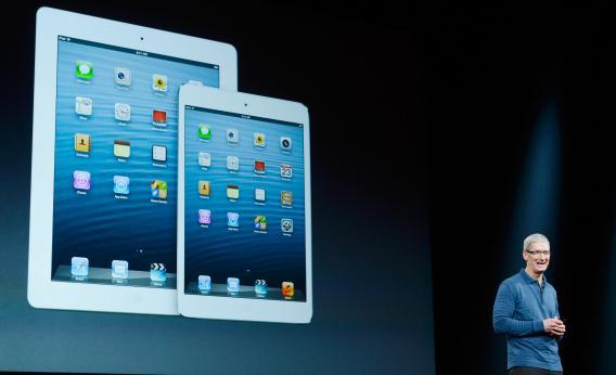 Tim Cook spiega il calo di vendite di iPad nell'ultimo trimestre