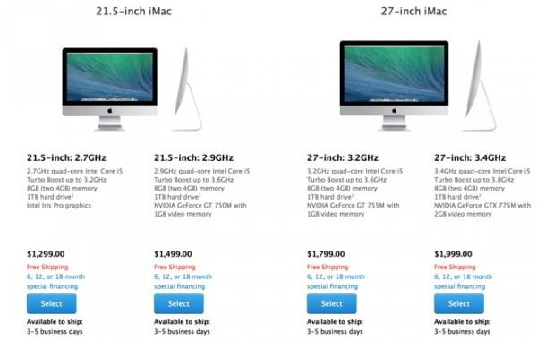 Apple WWDC 2014: in uscita i nuovi computer iMac