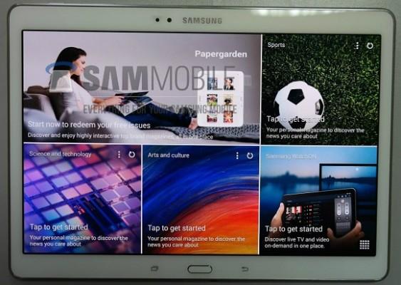 Samsung Galaxy Tab S 10.5: caratteristiche e prime immagini