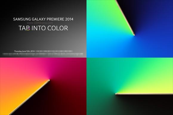 Samsung Galaxy Tab S: annuncio ufficiale il 12 Giugno