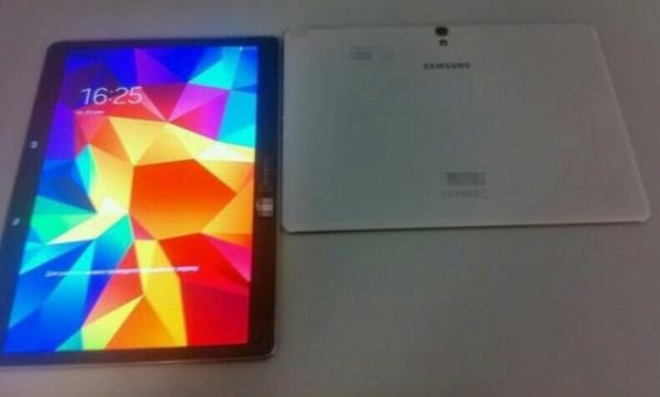 Samsung Galaxy Tab S: nuova foto della schermata di blocco