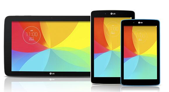 LG G Pad 7.0, G Pad 8.0 e G Pad 10.1 sono ufficiali, prezzo e uscita in Italia