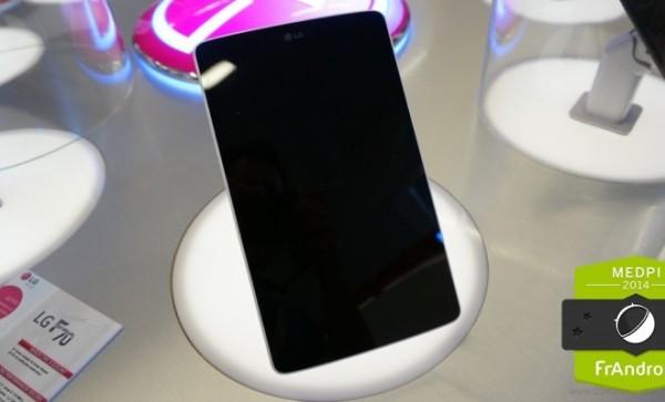 LG G Pad 7.0: immagini dal vivo del nuovo tablet da 7 pollici