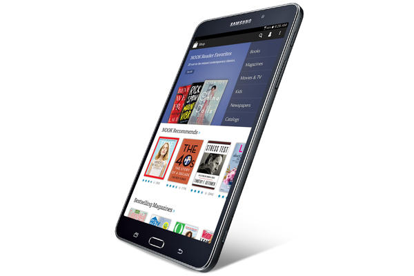 Samsung Galaxy Tab 4 Nook: nuovo tablet Android e-book reader