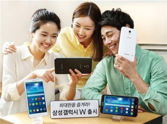 Samsung Galaxy W: smartphone da 7 pollici nemico dei jeans
