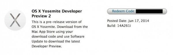 Apple OS X 10.10 Yosemite: le novità della Beta 2