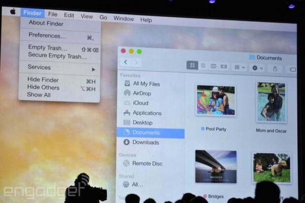 Apple WWDC 2014: tutte le novità di OS X 10.10 Yosemite