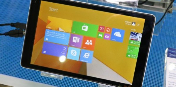 Computex 2014: svelati nuovi tablet Windows 8.1 low cost
